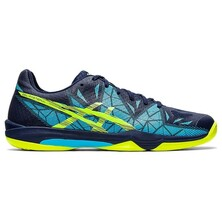 Asics Gel Fastball 3 Men's Indoor Court Shoes Peacoat Safety Yellow