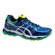 Asics Gel-kayano 21 Men's Running Shoes Blue Flash Yellow
