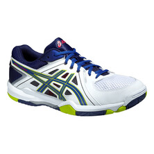 Asics Gel Task Men's Shoes White/Blue/Lime