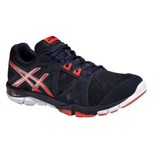Asics Gel-Craze TR 3 Men's Fitness and Training Shoe Sky Captain Orange White