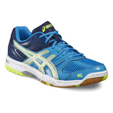 Asics Gel Rocket 7 Men's Shoes - Blue Jewel Glacier Grey