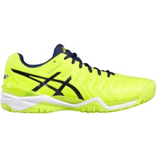 Asics Gel Resolution 7 Men's Tennis Shoes Safety Yellow