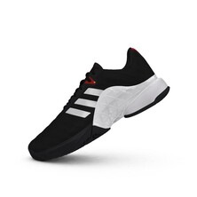 Adidas Mens Barricade Tennis Shoes Core Black
