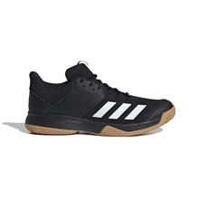Adidas Ligra 6 Mens Indoor Court Shoes Black