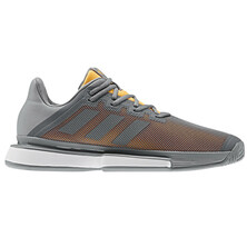 Adidas Sole Match Bounce Grey Men's Tennis Shoes
