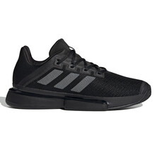 Adidas Men's SoleMatch Bounce Tennis Shoes Black