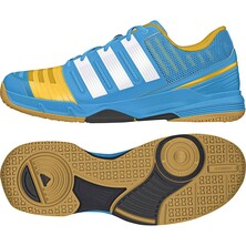 Adidas Court Stabil 11 Men's Solar Blue/White/Gold