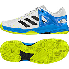 Adidas Stabil Junior Indoor Court Shoes White Black