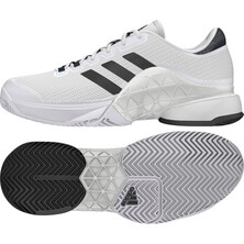 Adidas Mens Barricade 2017 Tennis Shoes White Grey