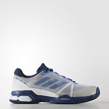 Adidas Barricade Club Men's Tennis Shoes White Blue