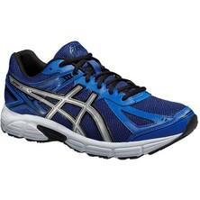 Asics Patriot 8 Men's Running Shoes Blue Silver Black