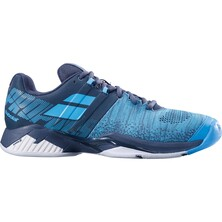 Babolat Propulse Blast All Court Men's Tennis Shoe Grey Blue 2019