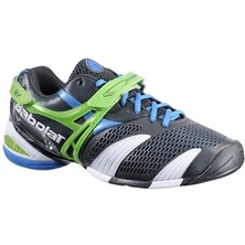 Babolat Propulse 3 Mens Tennis Shoes - Grey, Green