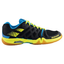 Babolat Shadow Team Men's Indoor Shoes Black Yellow