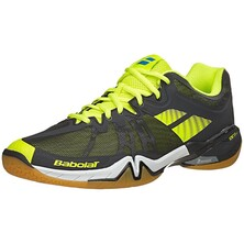 Babolat Shadow Tour Men's Indoor Shoes Black Yellow