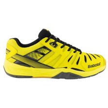 Babolat Shadow Club Indoor Shoes Black Yellow