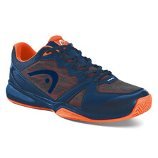 Head Revolt Indoor Court Shoes Blue Neon Orange