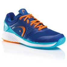 Head Sprint Pro Men's Tennis Shoes Blue Shocking Orange