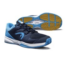 Head Grid 3.5 Men's Indoor Shoe Dark Blue Aqua