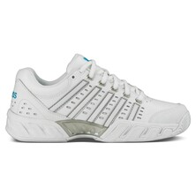 K-Swiss Womens BigShot Light LTR Tennis Shoes - White