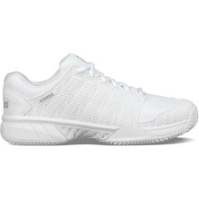 K-Swiss Mens Hypercourt Express HB Tennis Shoes - White/Highrise