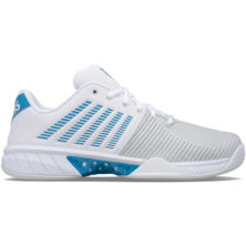K-Swiss Men's Express Light 2 HB Tennis Shoe White Swedish Blue