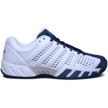K-Swiss Mens BigShot Light 2.5 Tennis Shoes - White/Blue