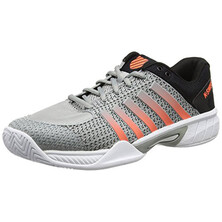 K-Swiss Express Light Men's Tennis Shoes Highrise/Black/Neon Blaze