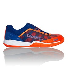 Salming Falco Men's Indoor Shoes Limoges Blue Orange Flame