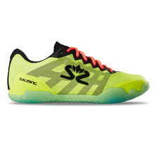 Salming Hawk Mens Indoor Shoes - Fluo Yellow Black 2020