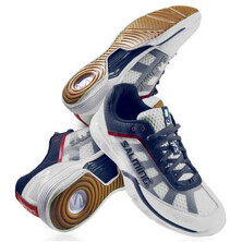 Salming Men's Viper 2.0 Indoor Court Shoes White Navy