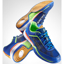 Salming Viper 3 Men's Indoor Shoes - Royal Blue Gecko Green