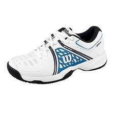 Wilson Tour Vision V Men's Tennis Shoes White Blue Navy