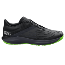 Wilson Mens Kaos 3.0 Tennis Shoes Black Green