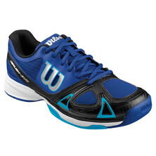 Wilson Rush Pro 2.0 Tennis Shoes White/Black/Scuba Blue