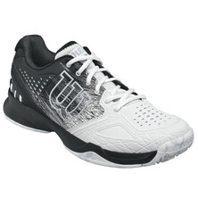 Wilson Kaos Comp Men's Tennis Shoes Black White Pearl Blue