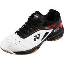 Yonex Men's Power Cushion 65 R2 Badminton Shoes White Red