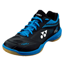 Yonex Men's Power Cushion SHB 65 Z2 Badminton Shoes Black Blue