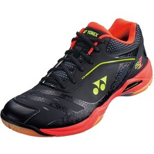 Yonex Power Cushion 65ZM Men's Indoor Court Shoes Black Red