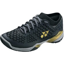 Yonex Mens Power Cushion Eclipsion Z Badminton Shoes Black Gold