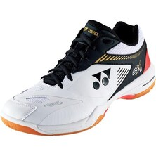 Yonex Mens Power Cushion 65 X 2 Wide Indoor Shoes - White/Black
