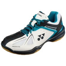 Yonex Power Cushion SHB 35 Mens Badminton Shoes - White Blue