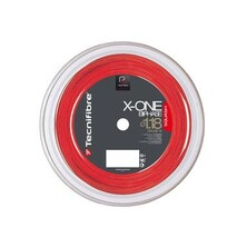 Tecnifibre X-One Biphase 1.18 Squash  String 200m Reel - Red