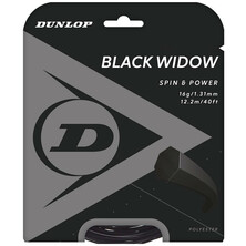 Dunlop Black Widow 1.31mm Tennis String Set Black