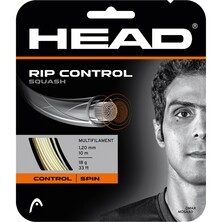 Head Rip Control 1.20mm Squash String White