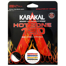 Karakal Hot Zone 120 Squash String Red