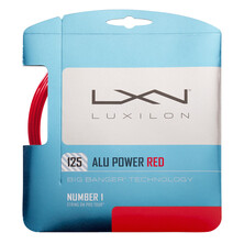 Luxilon ALU Power 125 LE Red 1.25mm Tennis String Set
