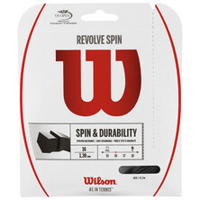 Wilson REVOLVE 16 Tennis String Set 1.3 MM Gauge Black