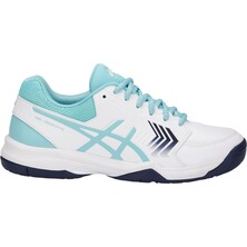 Asics Gel Dedicate 5 Women's Tennis Shoes White/Porcelain Blue