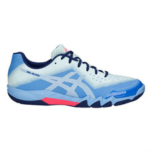 Asics Gel Blade 6 Women's Shoes Blue Bell Silver